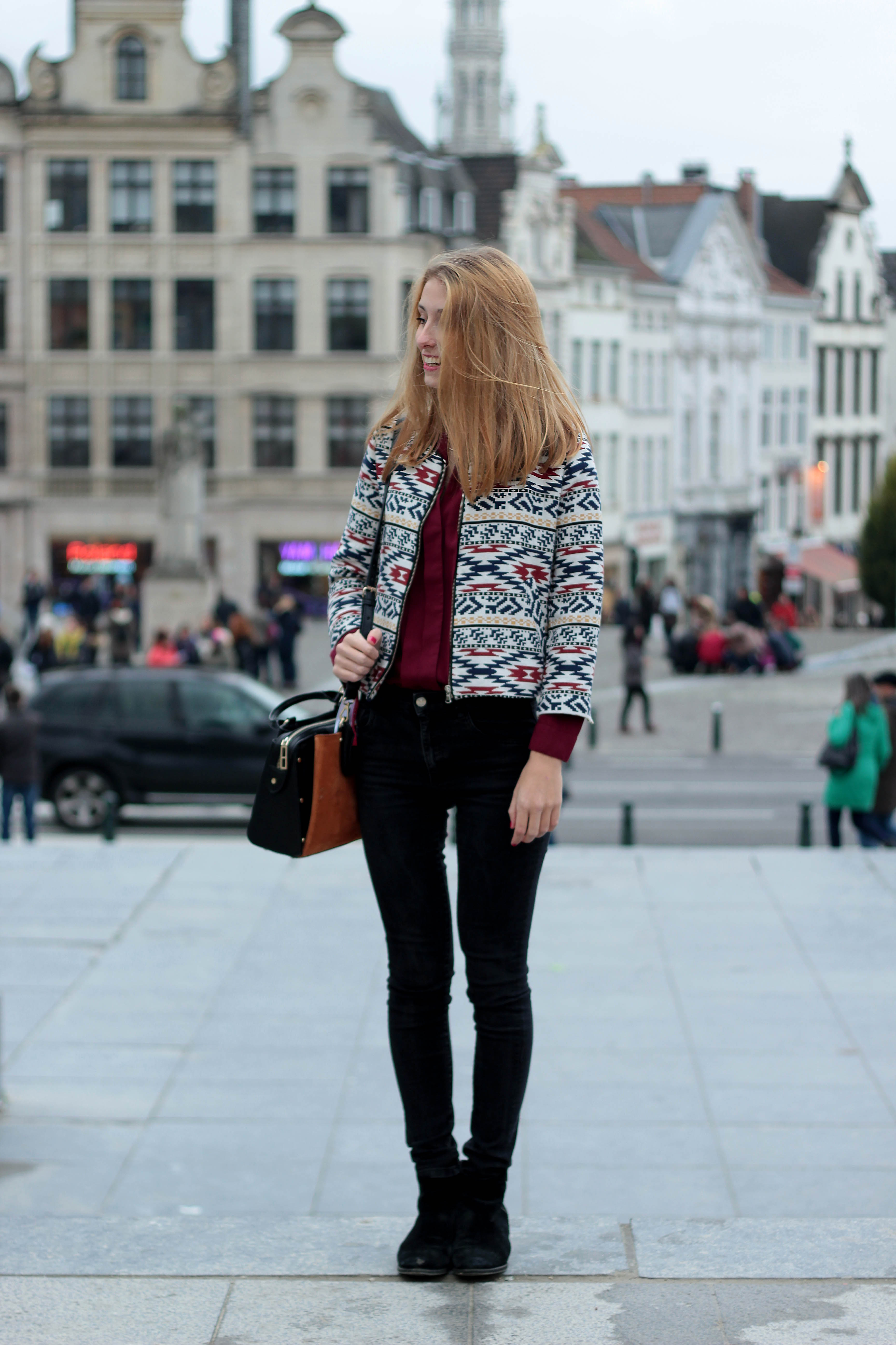 ootd such a girl - brussels fashion days