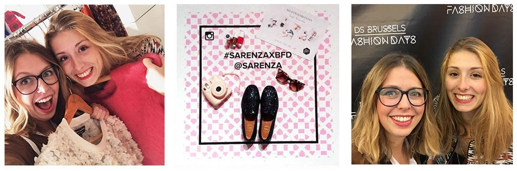 sarenza aux brussels fashion days avec happyischic