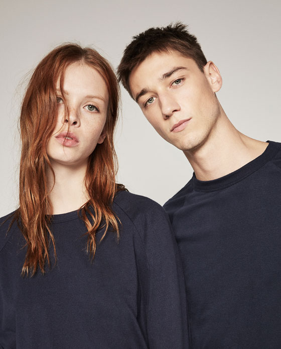 collection ZARA UNGENDERED