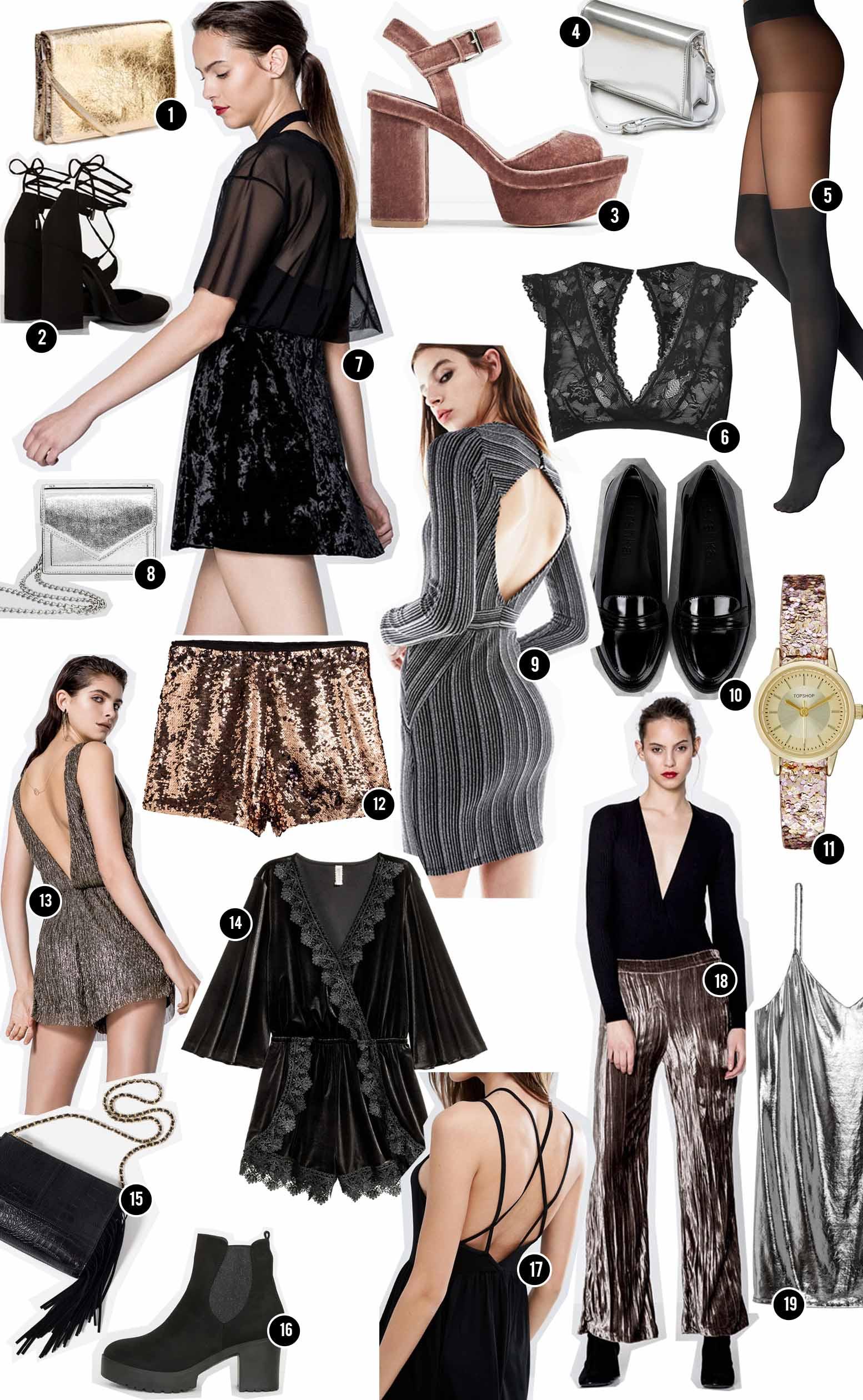 selection mode reveillon 2016 nouvel année tenue fête 2017