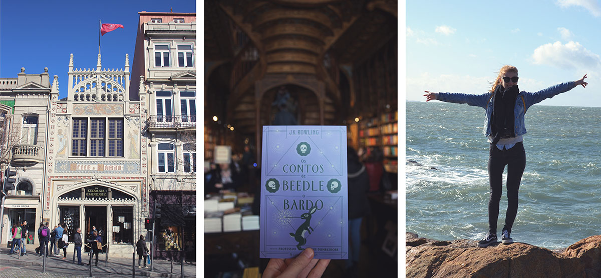 long weekend citytrip porto livraria lello
