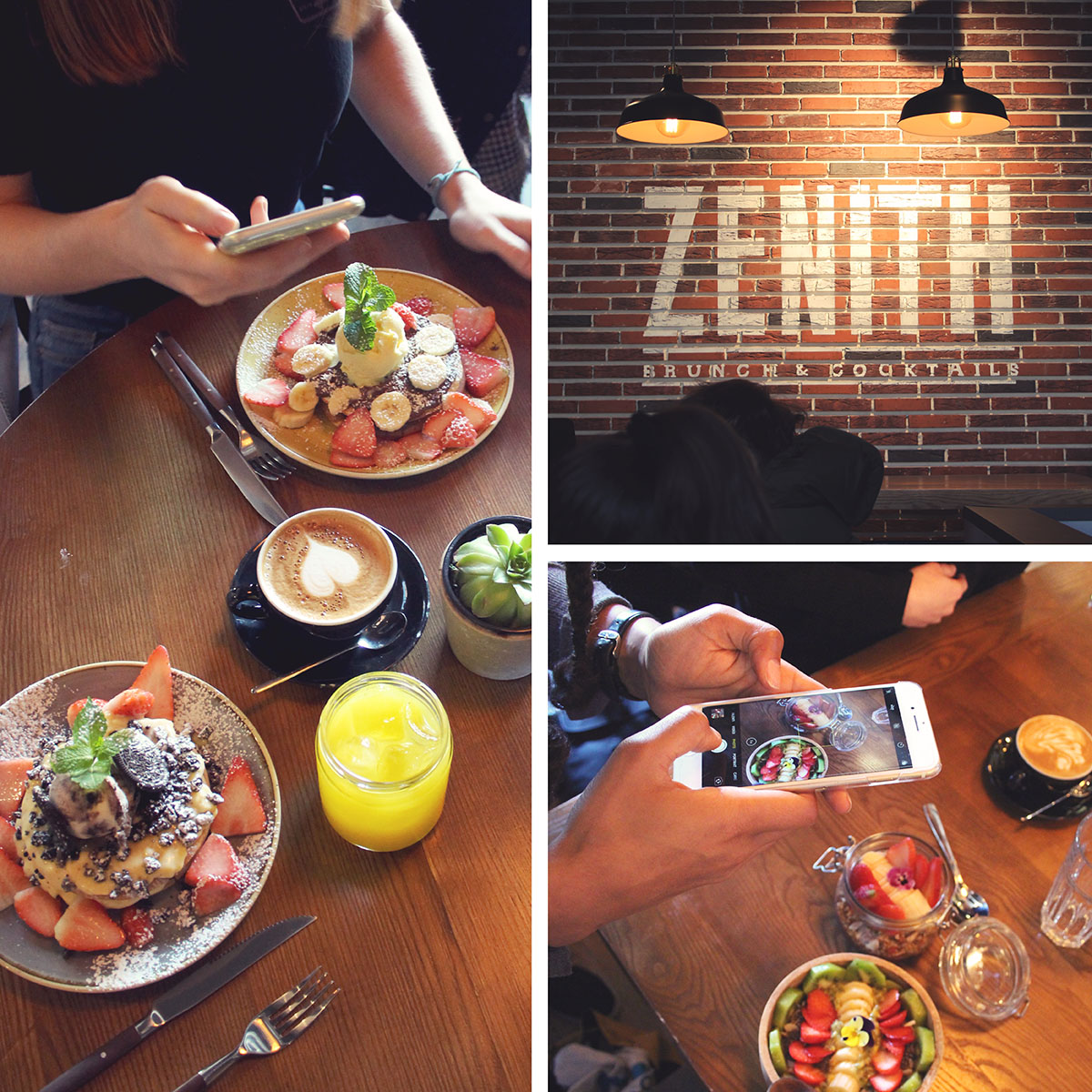 Zenith Brunchs & Cocktail Bar brunch Porto citytrip