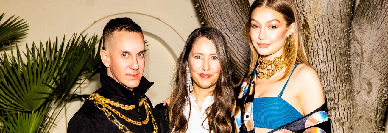 Jeremy Scott, Ann-Sofie Johansson and Gigi Hadid for MOSCHINO [TV] H&M
