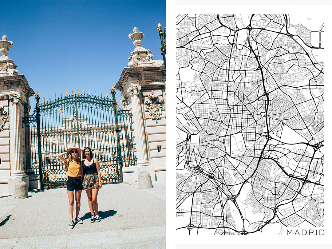 madrid map tourism