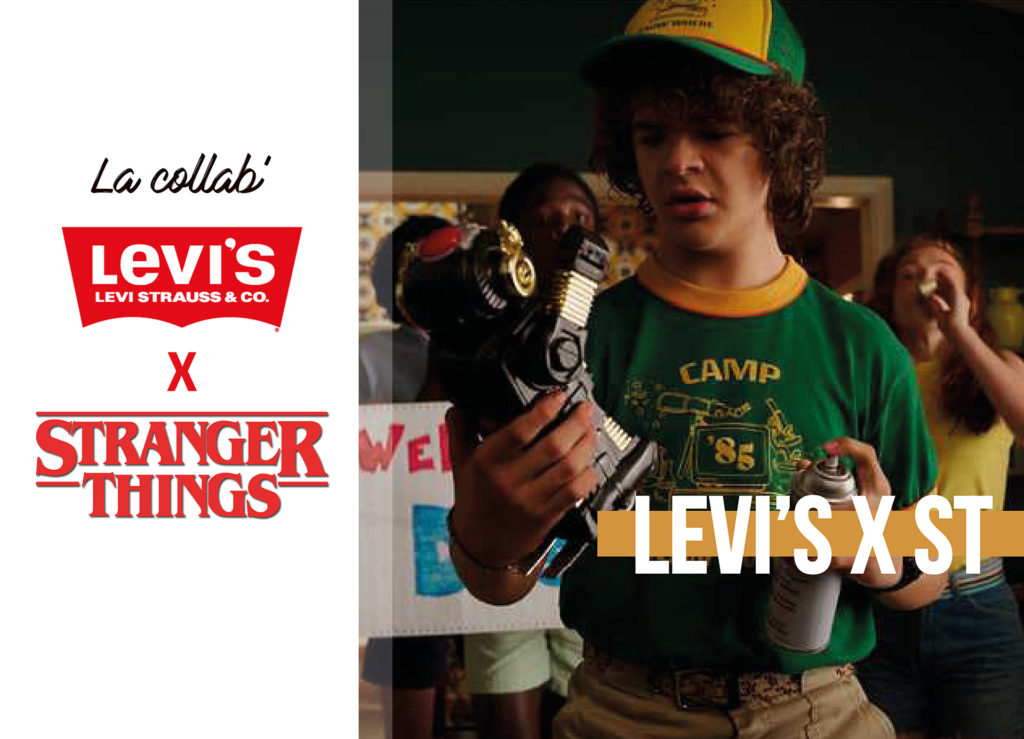 levis x stranger things netflix