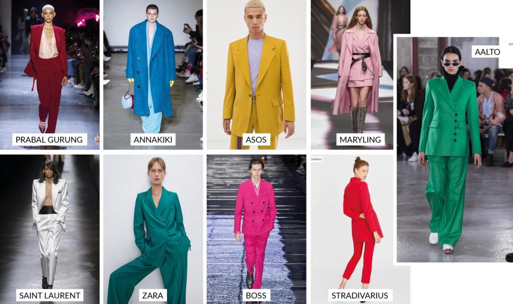 colorblock tendances hiver automne 2019