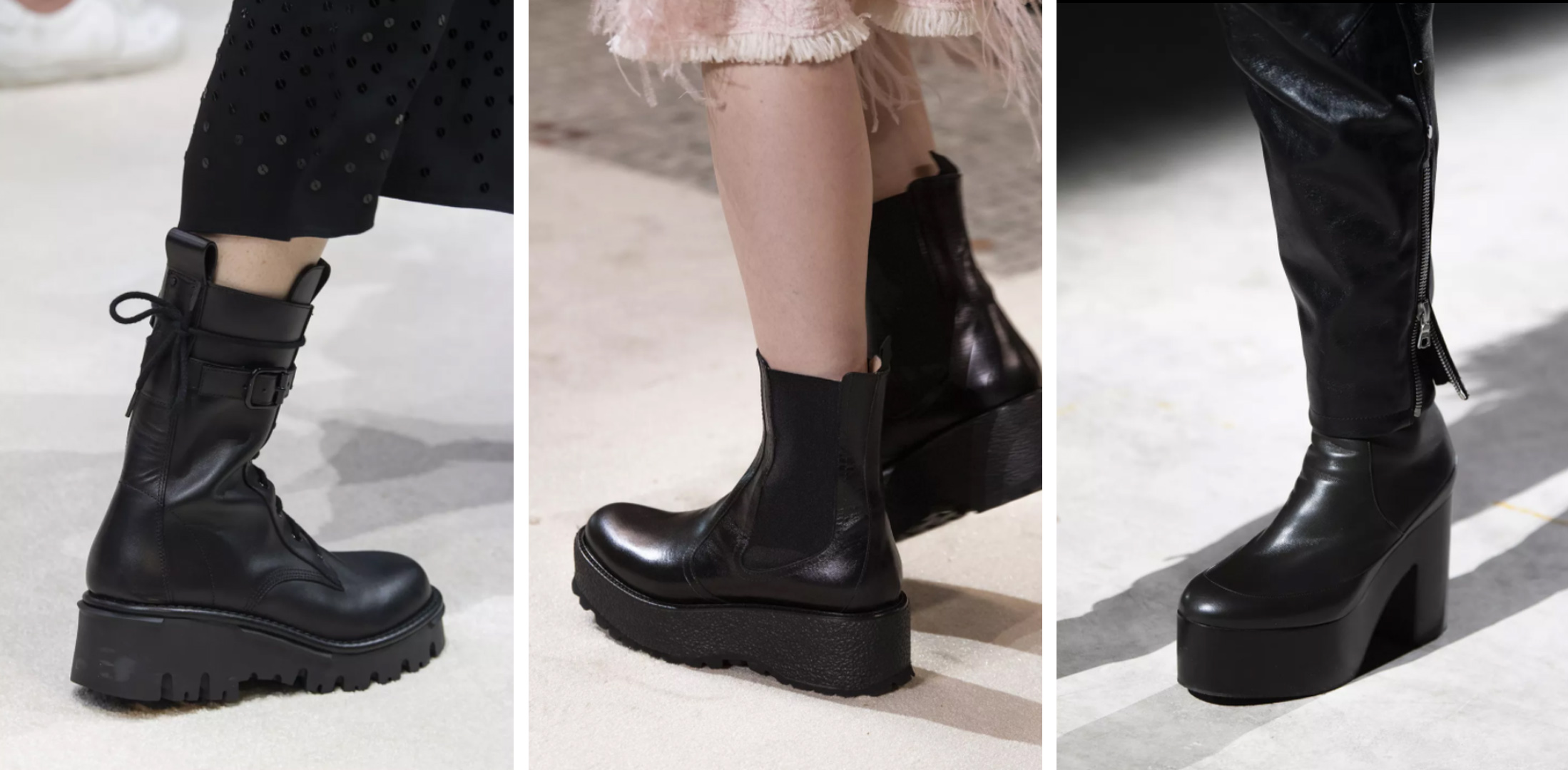 bottines tendance 2020