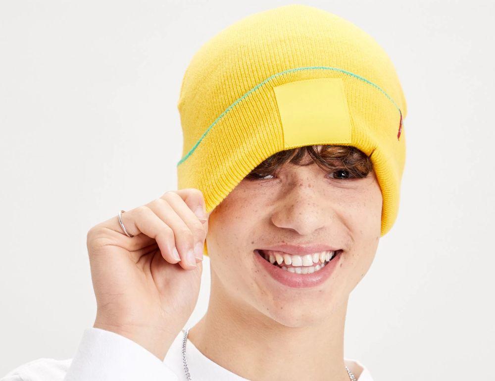 bonnet levis x lego