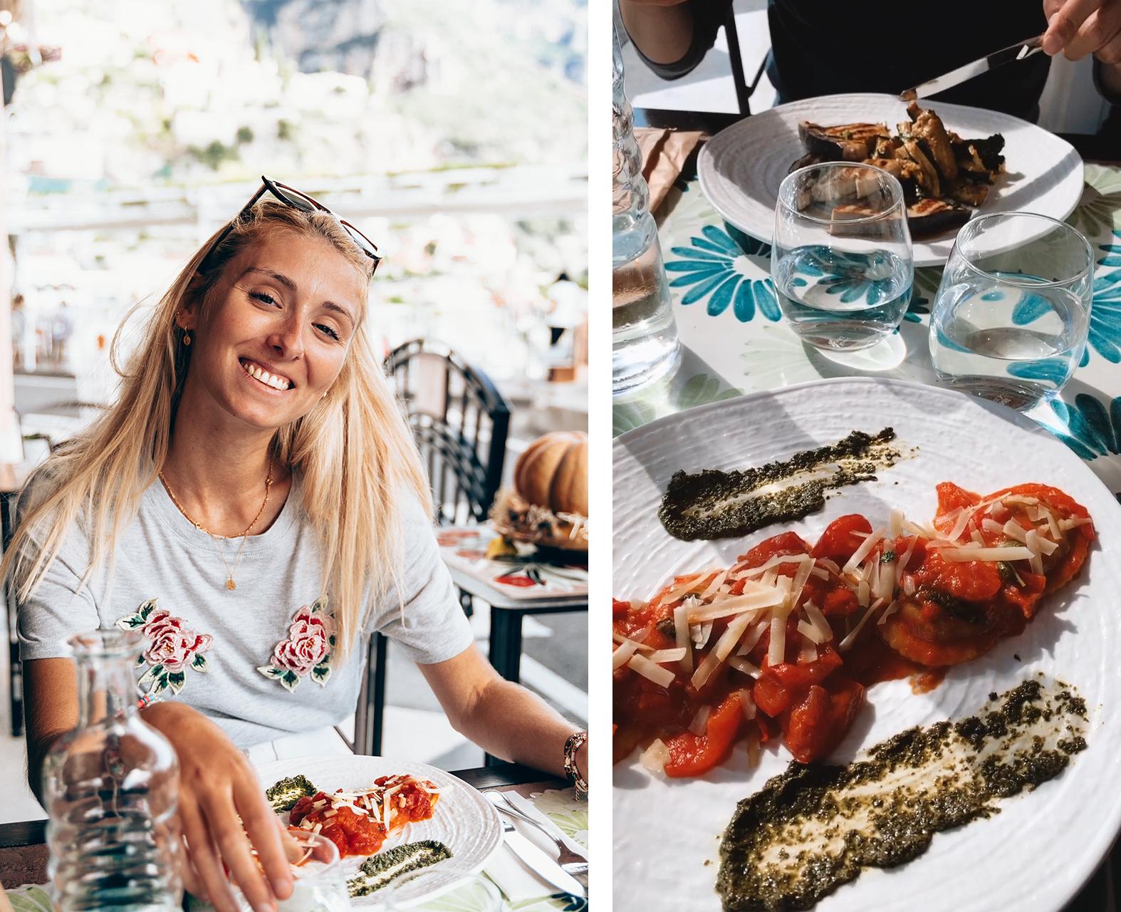 Da Vincenzo Positano restaurants naples cote amalfitaine